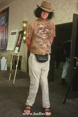 peter mayhew taille